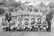 Futbalové mužstvo Rabče z roku 1978.