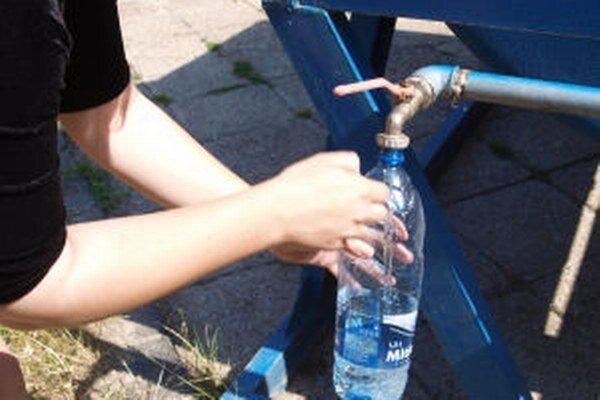 Časť centra mesta je bez vody.