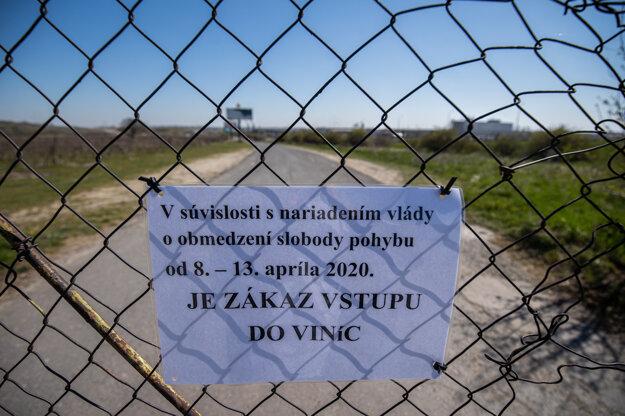 Obmedzenia v Bratislave.