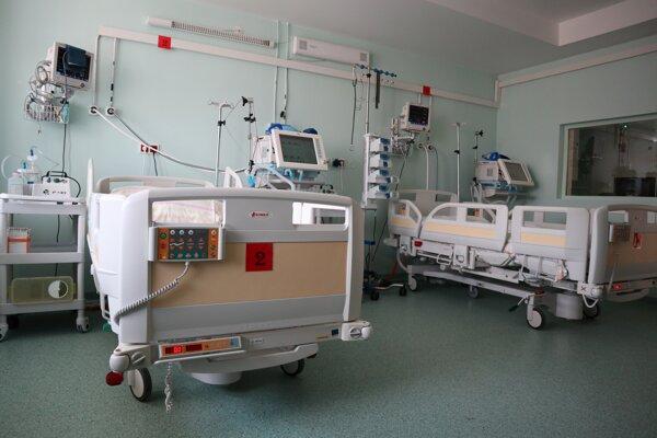Pandemický pavilón vo FNSP Žilina.