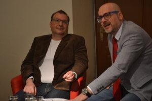 Tomáš Koziak (vľavo) a Michal Kaliňák.