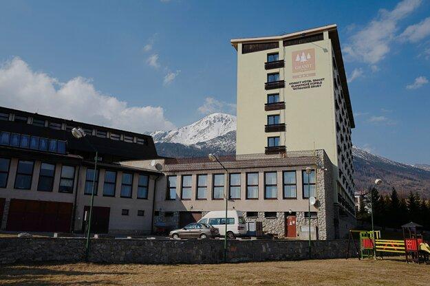 Hotel Granit v správe Ministerstva obrany Slovenskej republiky, ktorý je jedným z karanténnych centier.