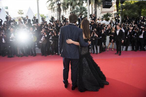 Momentka zo 71. ročníka medzinárodného filmového festivalu v Cannes.