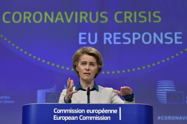 Šéfka eurokomisie Ursula von der Leyenová.