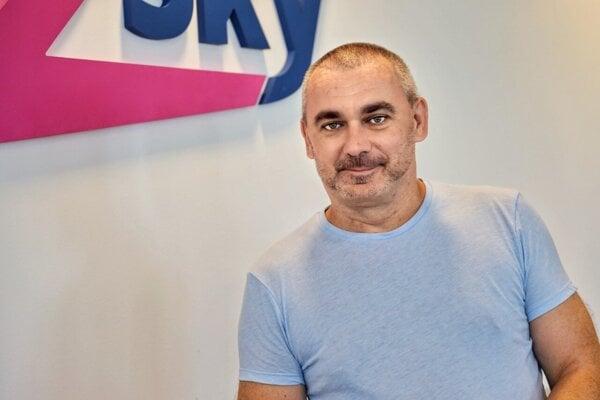 Daniel Ferjanček zo spoločnosti Go2Sky