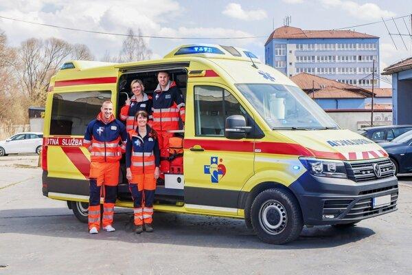 Záchranári z Brezna