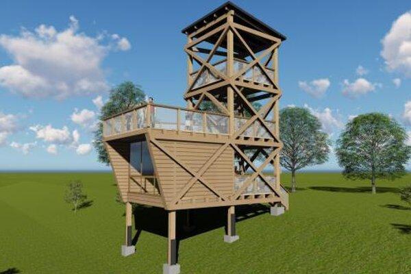 Vyhliadková veža vo Svidníku má stáť na aktuálne nefunkčnom lyžiarskom vleku.
