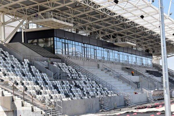 Po ukončení prvej fázy bude mať košická aréna takmer 5600 miest, vo finále by ich malo byť vyše 12 600.