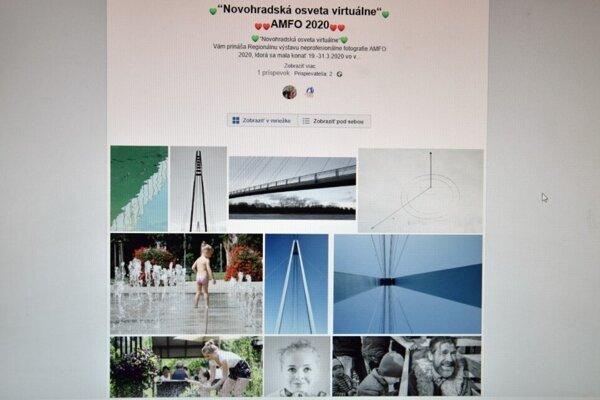 Výstava AMFO sa ocitla namiesto priestorov múzea vo virtuálnej podobe.