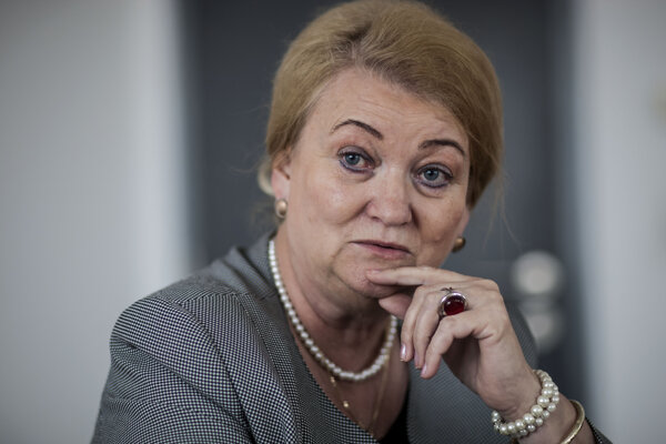 Poslankyňa Anna Záborská (OĽaNO).