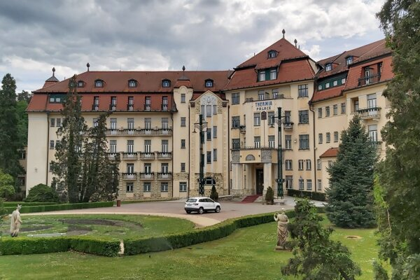 Hotel Thermia Palace v Piešťanoch.