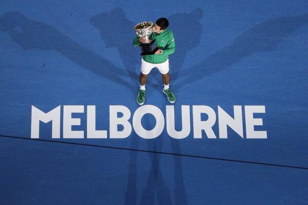 V roku 2020 zvíťazil v Melbourne vo dvojhre mužov Novak Djokovič.
