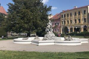 Fontány majú ostať v Prešove bez vody.