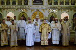 Vysviacka diakonov v bazilike minor v Ľutine.