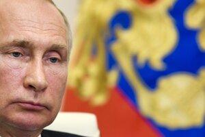 Ruský prezident Vladmir Putin.