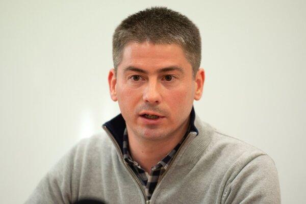 Primátor Malaciek Juraj Říha.
