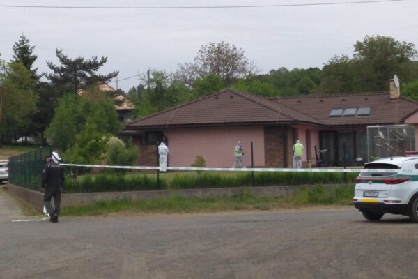 Dom v Točnici, v ktorom sa odohrala tragédia.