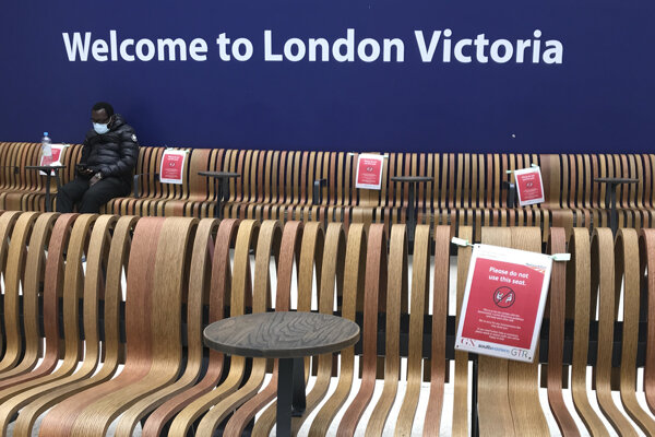 Stanica Victoria v Londýne.