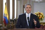 Kolumbijský prezident Iván Duque.