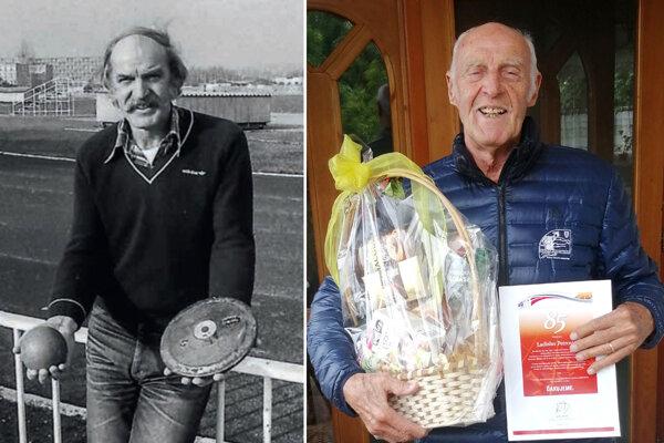 Ladislav Petrovič zasvätil atletike (a vrhačským disciplínam) celý svoj život. K 85-ke mu gratuloval aj Slovenský atletický zväz.