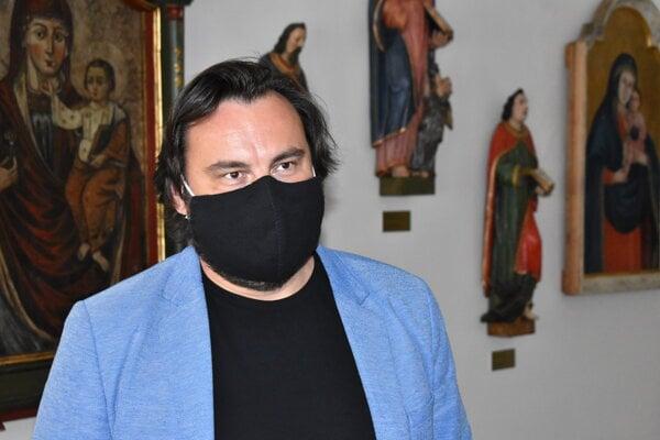 Ľuboš Olejník, riaditeľ Krajského múzea v Prešove.