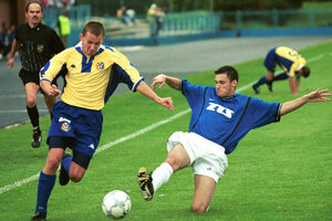 Roman Jurko (vľavo) ešte v drese Košíc.