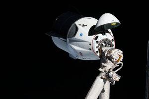 Misia Crew Dragon Demo-1 v marci 2019, počas ktorej letela kapsula bez posádky na obežnú dráhu a spojila sa s ISS.