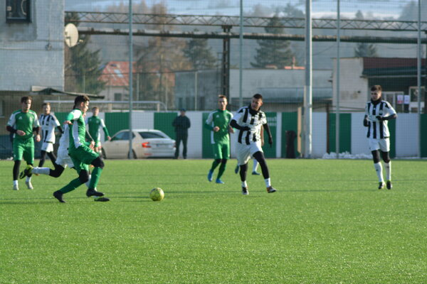 Hráči MŠK Kysucké Nové Mesto počas prípravy.