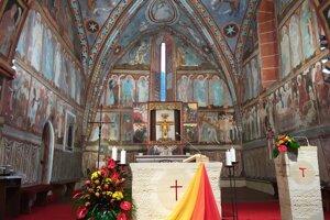 Kostol sv. Františka z Assisi v obci Poníky