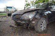 Nehoda sa stala v Hornej Seči.