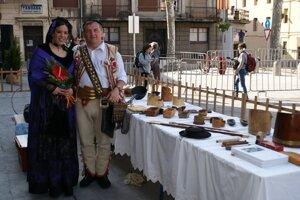 Svoje majstrovstvo predviedol Ľ. Tatarka aj na ovčiarskych slávnostiach v Katalánsku.