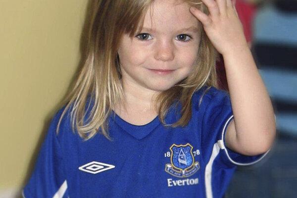 Madeleine McCannová zmizla v roku 2007.