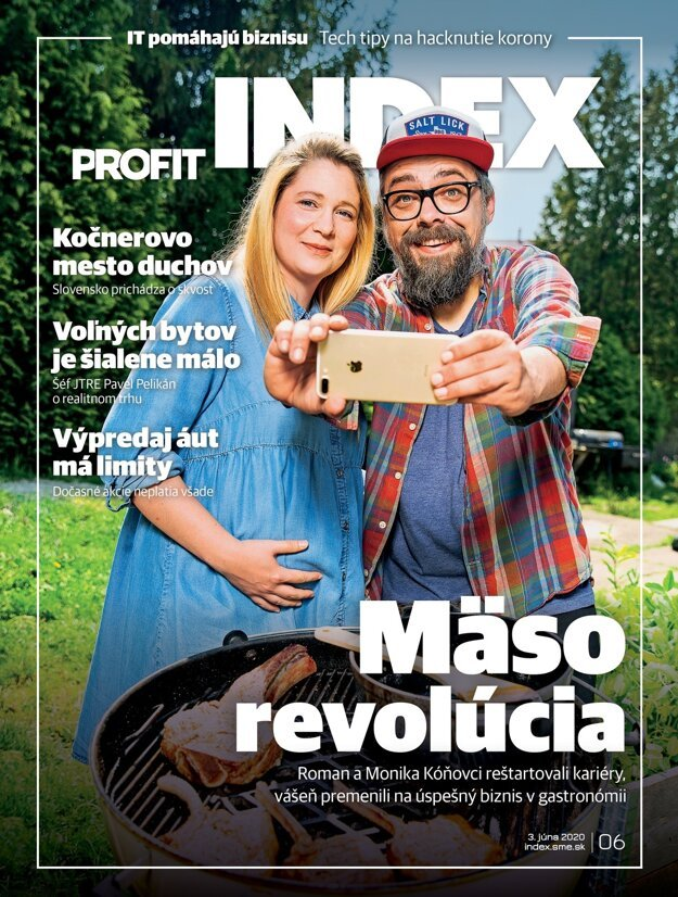 Článok je titulkovou témou júnového čísla časopisu INDEX.