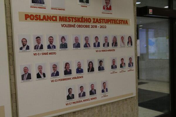 Poslanci volili hlavného kontrolóra v tajnom hlasovaní. O M. Alušicovi rozhodlo 13 poslancov mestského zastupiteľstva.