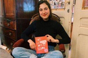 Lucia Zamolo a jej kniha Rot ist doch schön, v slovenskom preklade Červená je pekná.
