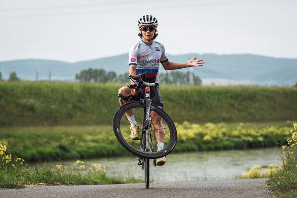Tomáš Sivok patrí medzi najväčšie talenty slovenskej cyklistiky.