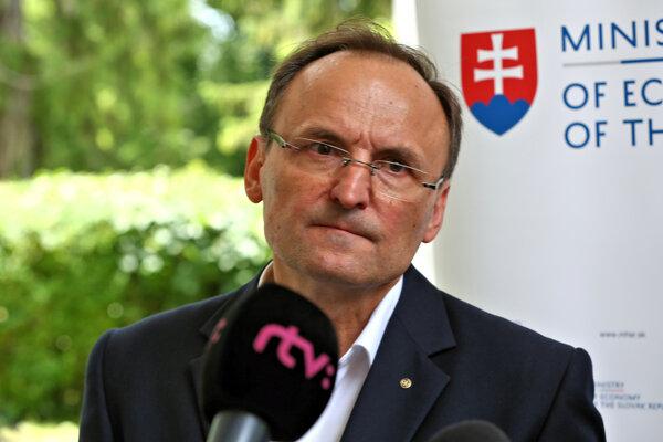 Generálny riaditeľ spoločnosti MH Manažment Ľuboš Lopatka.