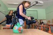 Deti tvoria krátke filmy aj reportáže.