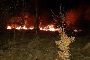 Aj takúto podobu majú požiare na Kysuciach.
