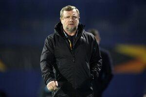 Tréner Pavel Vrba.