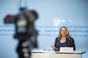Nemecká ministerka pre životné prostredie Svenja Schulzeová.