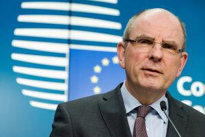 Koen Geens, federálny minister spravodlivosti Belgicka.