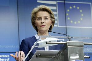 Šéfka Európskej komisie Ursula von der Leyenová.