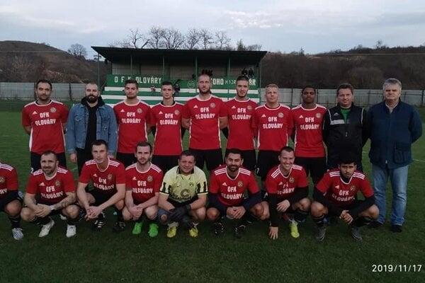 OFK Olováry - jeseň 2019/20.