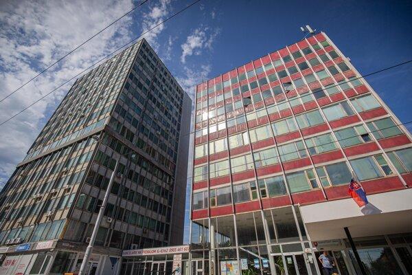 Budova Štatistického úradu SR.