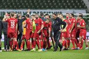 Futbalisti 1. FC Heidenheim.