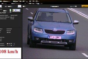 Vodič prekročil rýchlostný limit 58 kilometrov za hodinu.