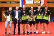 Stolní tenisti Geológa Rožňava sú tretí najlepší tím na Slovensku.