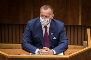 Šéf Národnej rady Boris Kollár.
