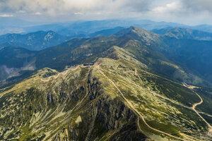 Nízke Tatry v prípade dobrého počasie ponúkajú jedinečné výhľady.
